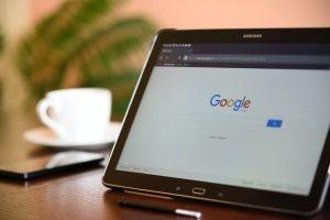 Google tablet image