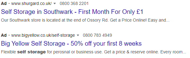 offers in ads